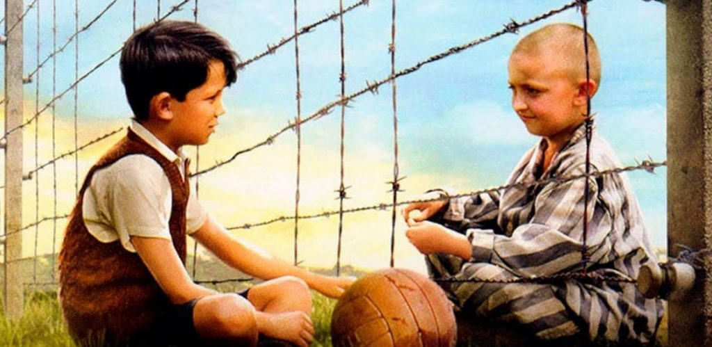 Movie review of the boy in striped pajamas