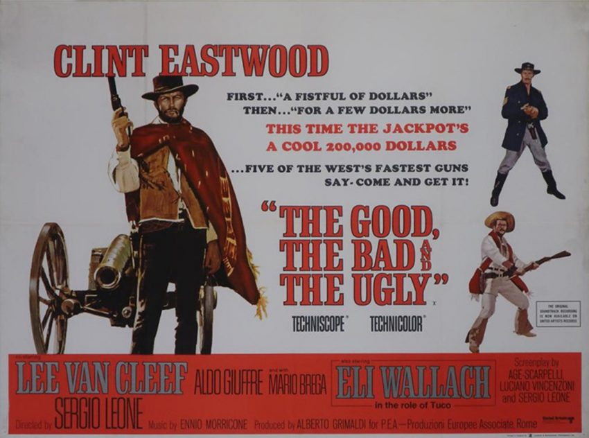 The good, The bad and the ugly movie poster and review